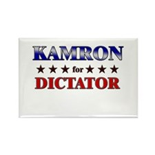 KAMRON for dictator Rectangle Magnet