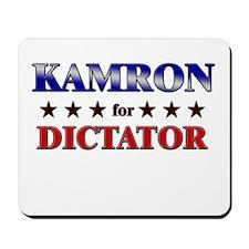 KAMRON for dictator Mousepad
