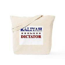 KALIYAH for dictator Tote Bag