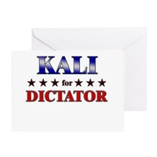 KALI for dictator Greeting Card