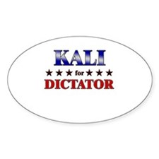 KALI for dictator Oval Decal