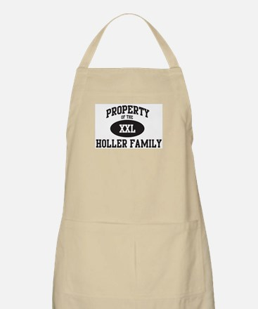 Property of Holler Family BBQ Apron