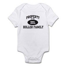 Property of Holler Family Infant Bodysuit