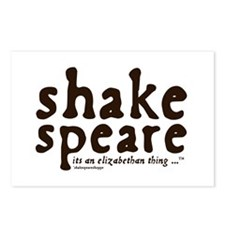 Shakespeare Postcards (Package of 8)