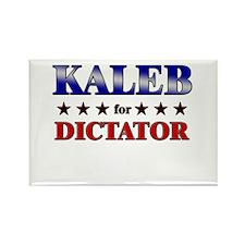 KALEB for dictator Rectangle Magnet