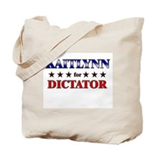 KAITLYNN for dictator Tote Bag