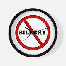 No-Billary Wall Clock