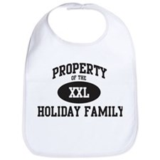 Property of Holiday Family Bib