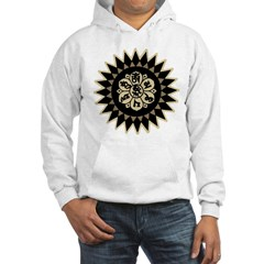 Om Mani Padme Hum Hooded Sweatshirt