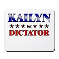 KAILYN for dictator Mousepad