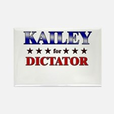 KAILEY for dictator Rectangle Magnet