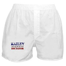 KAILEY for dictator Boxer Shorts