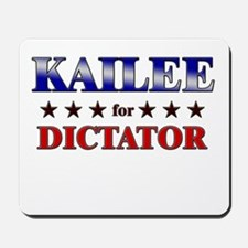 KAILEE for dictator Mousepad