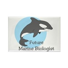 Future Marine Biologist 2 Rectangle Magnet