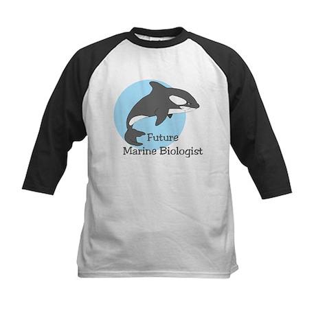 Future Marine Biologist 2 Kids Baseball Jersey