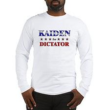 KAIDEN for dictator Long Sleeve T-Shirt