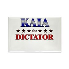 KAIA for dictator Rectangle Magnet