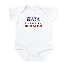 KAIA for dictator Infant Bodysuit