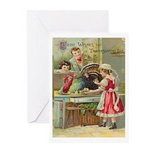 1910 Thanksgiving Greeting Cards (Pkof10)(Remake)