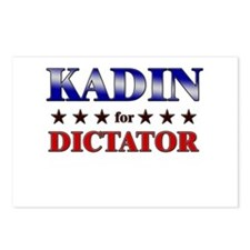 KADIN for dictator Postcards (Package of 8)