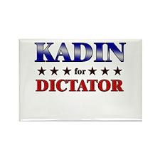 KADIN for dictator Rectangle Magnet