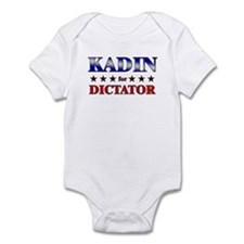 KADIN for dictator Infant Bodysuit