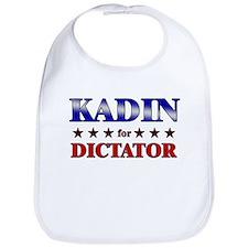 KADIN for dictator Bib