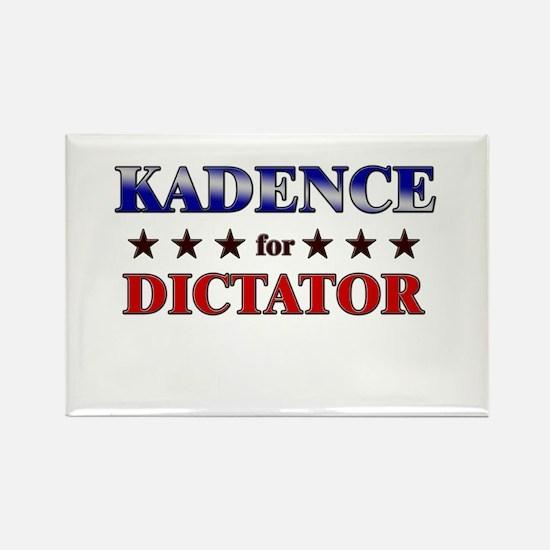KADENCE for dictator Rectangle Magnet