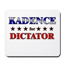 KADENCE for dictator Mousepad