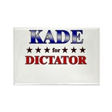 KADE for dictator Rectangle Magnet