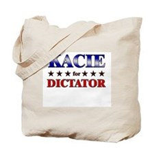 KACIE for dictator Tote Bag