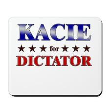 KACIE for dictator Mousepad