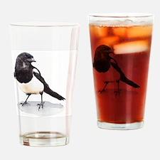 Cute Birdwatching Drinking Glass
