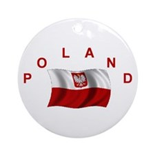 Polish Flag Keepsake Ornament