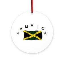 Jamaican Flag Keepsake Ornament