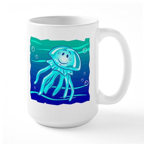 Jellyfish Large Mug