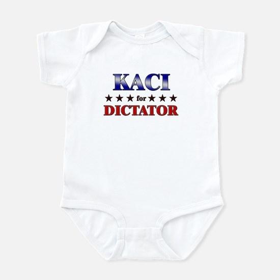 KACI for dictator Infant Bodysuit