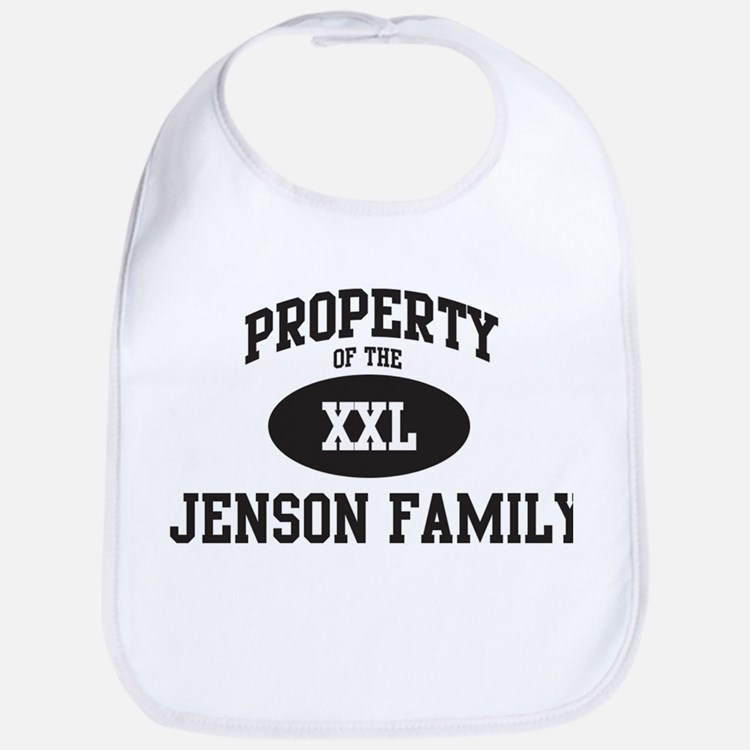 Property of Jenson Family Bib
