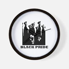 Black Pride Wall Clock