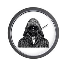 Hooded Brotha Wall Clock