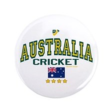 "AUS Australia Cricket 3.5"" Button"