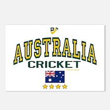 AUS Australia Cricket Postcards (Package of 8)