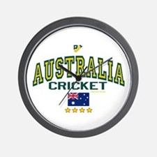 AUS Australia Cricket Wall Clock