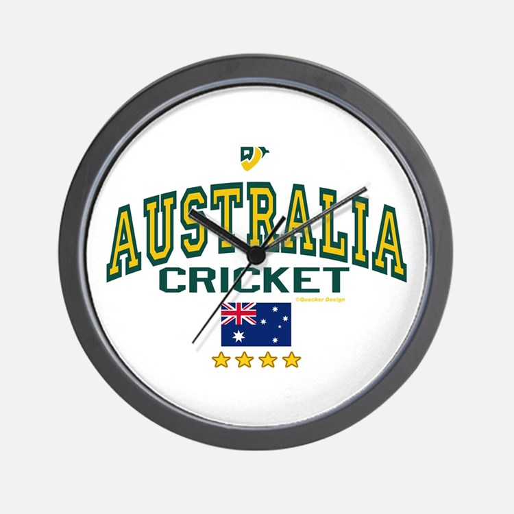 Australia Cricket Clocks Australia Cricket Wall Clocks