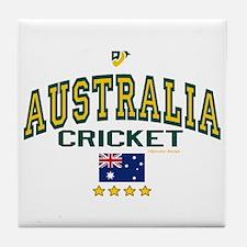 AUS Australia Cricket Tile Coaster