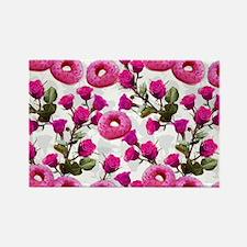 Cool Rose hip Rectangle Magnet