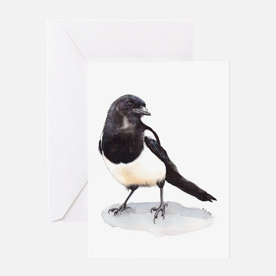 Magpie Greeting Cards
