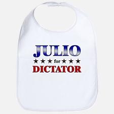 JULIO for dictator Bib