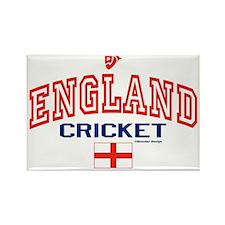 ENG England Cricket Rectangle Magnet