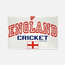 ENG England Cricket Rectangle Magnet